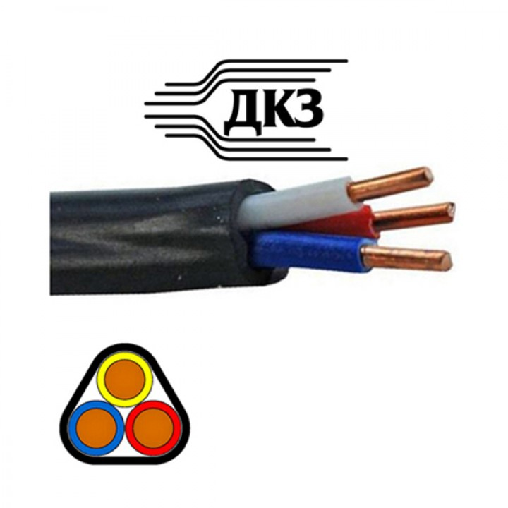 Кабель ВВГ 3х2,5 ДКЗ Энерго