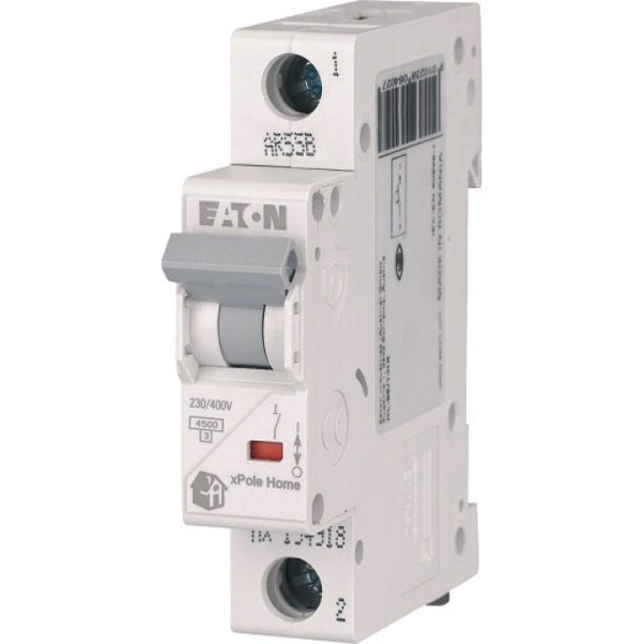 Автоматический выключатель 10A 1P Eaton